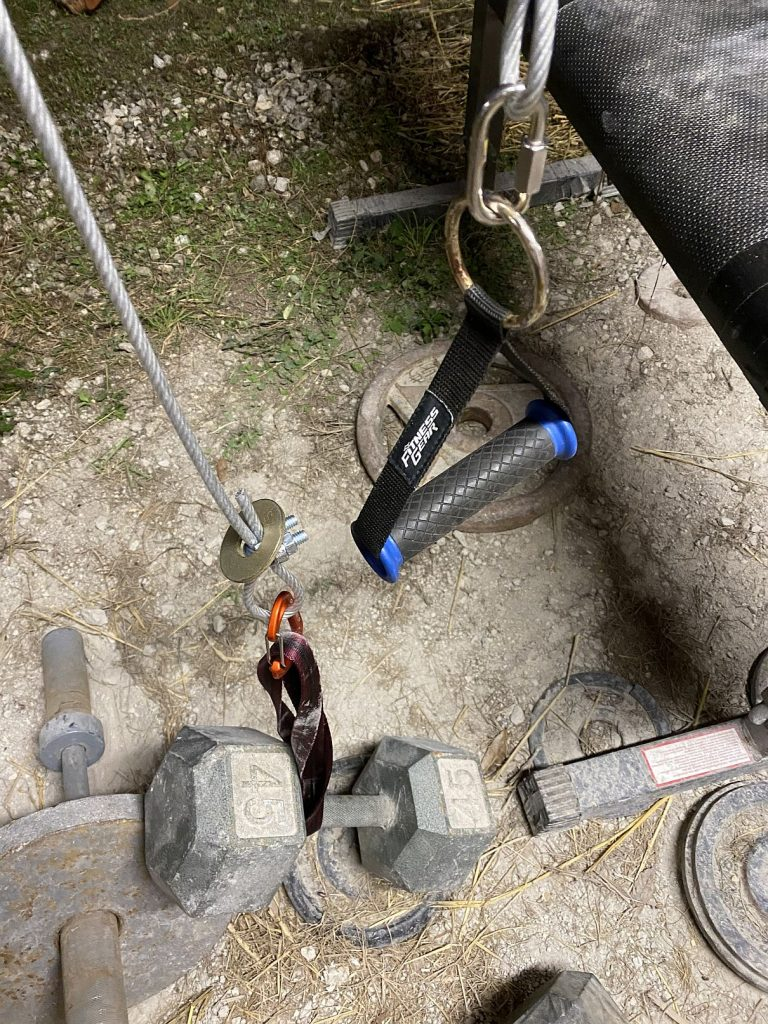 portable pulley system